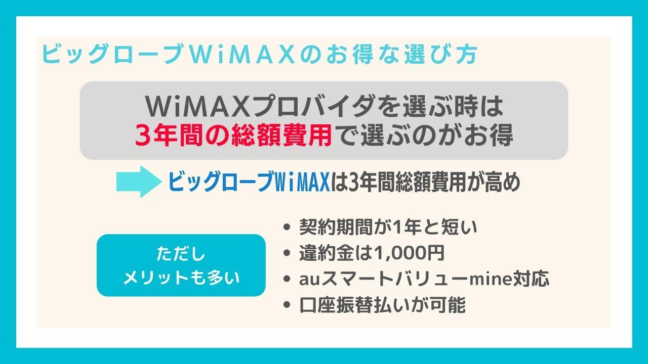 実はどのプロバイダのWiMAXを選んでも速度は同じ!ビッグローブWiMAXの魅力は契約期間の短さ