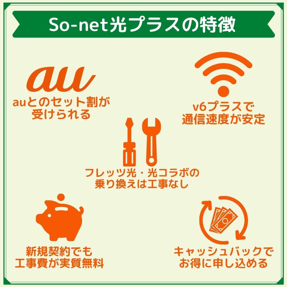 So-net光プラスの特徴